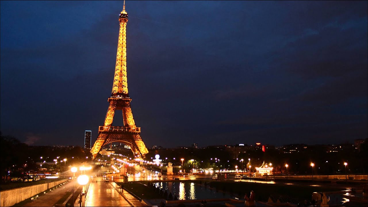 Vid o timelapse de la tour eiffel de nuit youtube - Photo de tour eiffel ...