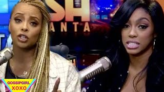 Eva might be losing her job at Dish Nation due to Porsha & Da Brat planing to get her on the OUTS
