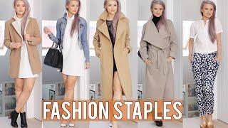 12 Basic Fashion Staples | Inthefrow