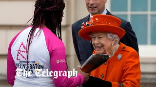 video: The Queen launches Commonwealth relay in first major event since pandemic