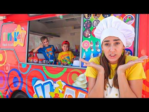 Vlad và Niki khám phá Xe bán kem mới của mẹ