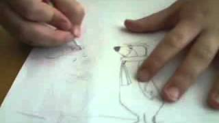 How to draw Yogi and Bobo Bear