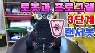 [로보로보] 로봇과 프로그램 3단계 랜서봇