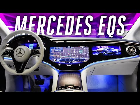 2022 Mercedes-Benz EQS: an electric S-Class with over 400 miles of range - The Verge
