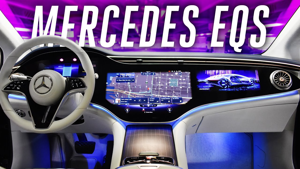 2022 Mercedes-Benz EQS : An Electric S-Class with over 400 miles of range