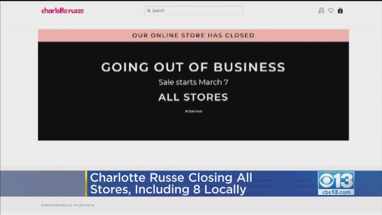 Charlotte Russe to Close All Stores, Begin Liquidation