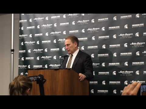 Tom Izzo recaps Michigan State
