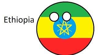 Polandball Drawing - Ethiopia