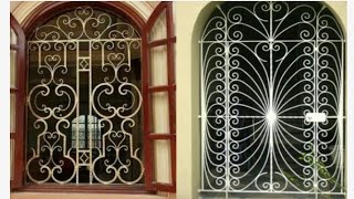 Latest window grill designs for modern homes