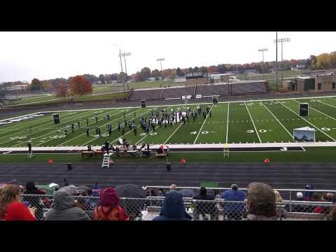 Plainwell High School Trojan Marching Band 2015