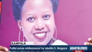 Poliisi eraze ebifanaanyi by'abatta Susan Magara.