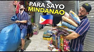 Buying  & Emptying a STORE of BLANKETS & TRAPAL for Earthquake Victims in MINDANAO ❤️🙏