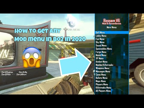 How To Get ANY Mod Menu In Call Of Duty Black Ops 2 In (2020)