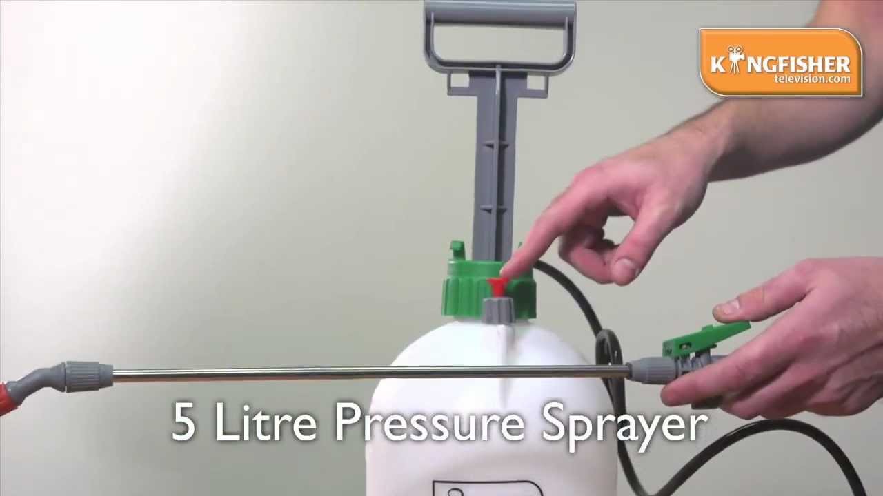 kingfisher 5 litre pressure sprayer youtube. Black Bedroom Furniture Sets. Home Design Ideas