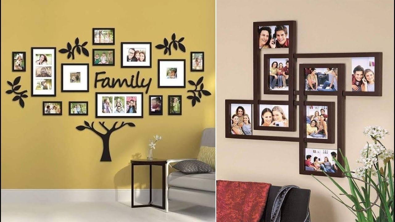 13 Ideas To Decorate Walls With Family Photos 2019