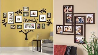 13 Ideas To Decorate Walls With Family Photos | 2019 | Wall Design Series   Episode 6