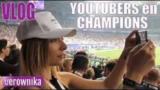 Youtubers en la final de Champions   VLOG REVIEW SONY XPERIA XZ2