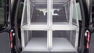 Клетки для перевозки собак в машине. Размер 0,5 х 0,57 х 0,8 м .