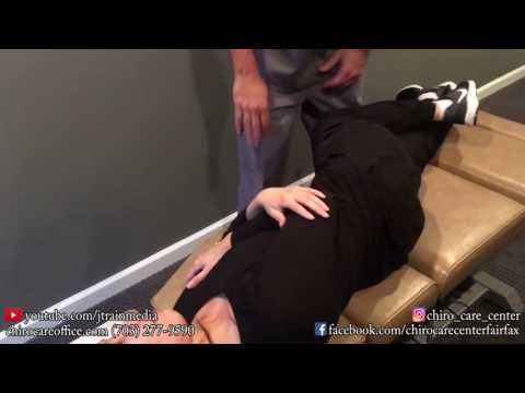 JUST ADJUSTMENTS   Chiropractic Adjustment on an August Car Accident Patient