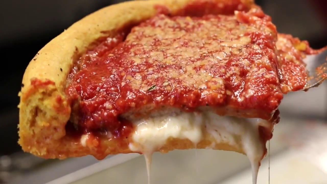 How To Make Chicago Style Deep Dish Pizza At Home