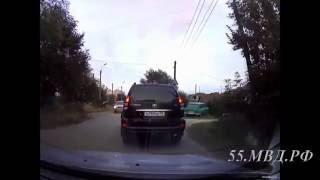 11 летний водитель на Land Cruiser Prado в Омске