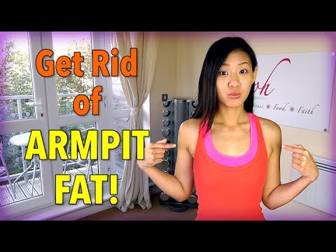 Effective Exercises to Get Rid of Armpit Fat! - YouTube