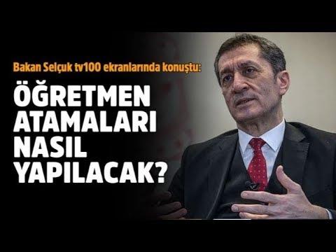 Milli Eğitim Bakanı Ziya Selçuk tv100'e konuk oldu: Herkesin merak ettiği o soruya yanıt verdi
