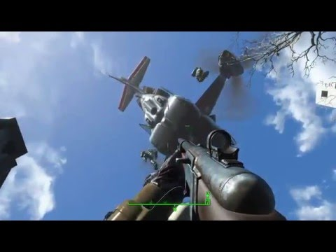 Fallout 4 (The Battle Of Bunker Hill) Good Standing With All Factions HD