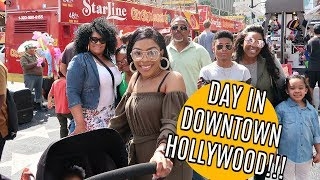 VLOG #90 | DAY IN DOWNTOWN HOLLYWOOD!!!