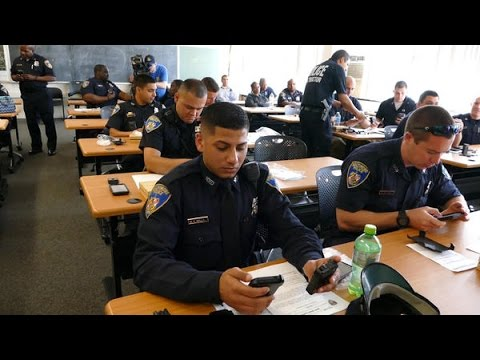 Baltimore Police Officers Receive Body Cameras