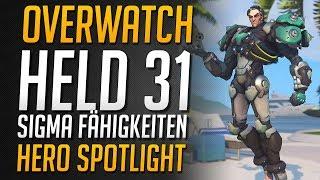 Overwatch Neuer Held Sigma Ability Spotlight | Alle Fähigkeiten erklärt! ★ Overwatch Deutsch