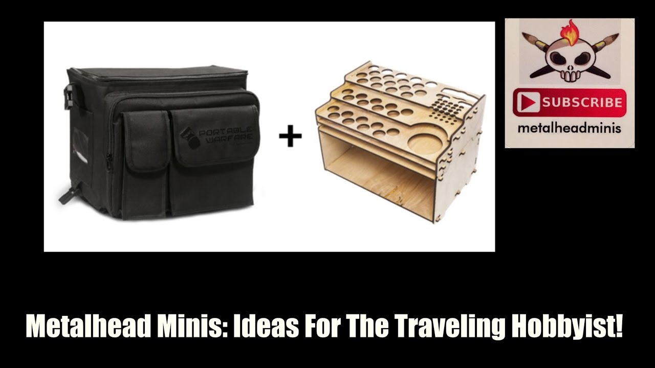 Metalhead Minis: Ideas For The Traveling Hobbyist!