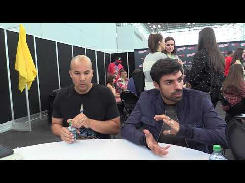 NYCC 2017: Comic Uno The Gifted's Sean Teale and Coby Bell