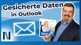 Outlook Daten sichern und wiederherstellen – so funktioniert's!