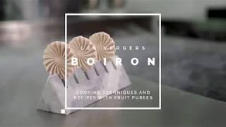[RECIPE Les vergers Boiron] Fig and gorgonzola nitro wafer