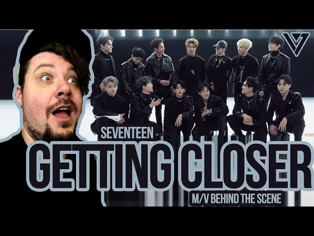 Mikey Reacts to SEVENTEEN 'Getting Closer' M/V BEHIND THE SCENES