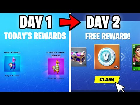 """How To *SKIP DAYS* Continuously """"DAILY REWARDS"""" Easy Vbucks Fortnite Save The World"""