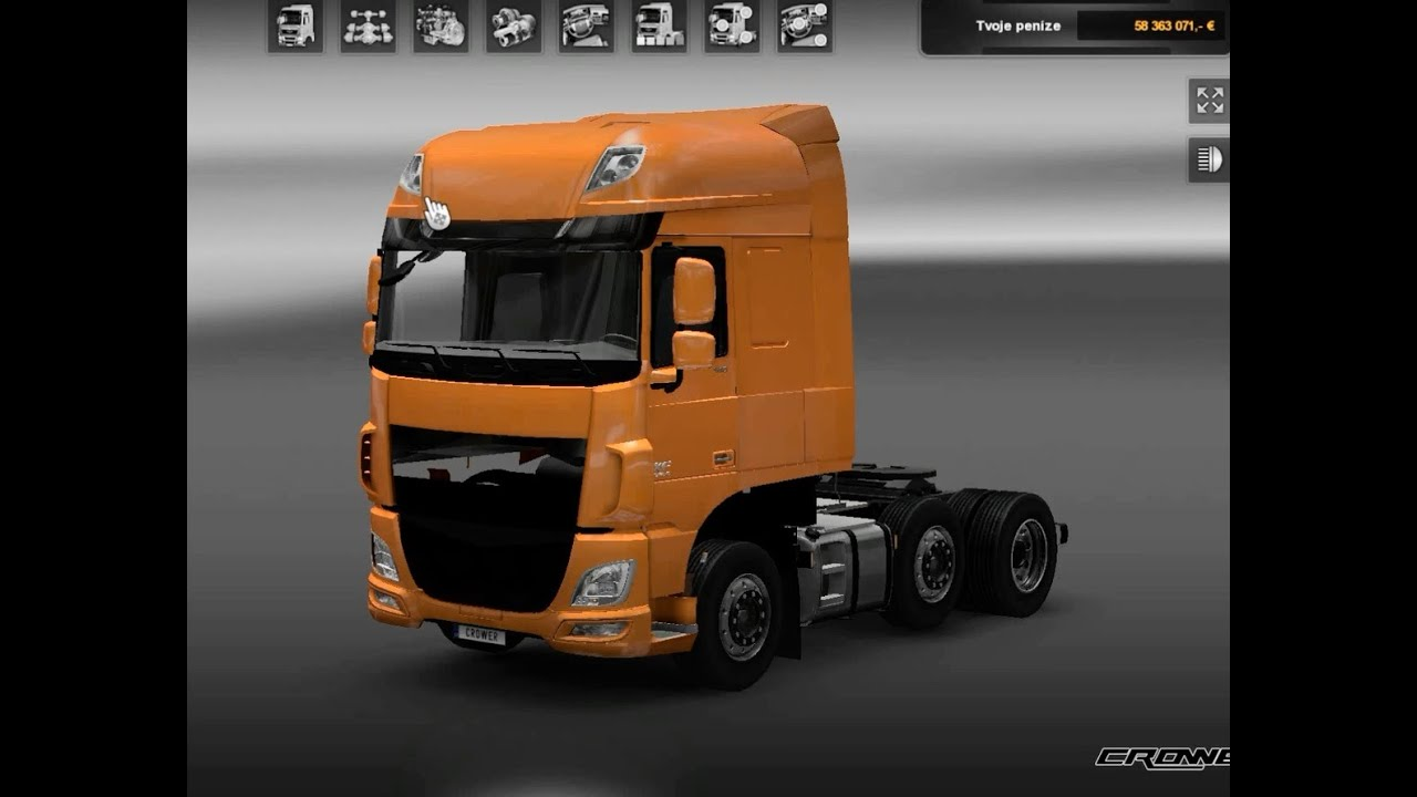 Euro Truck Simulator 2 моды Daf