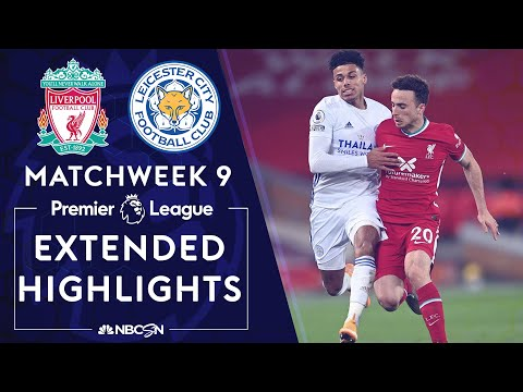 Liverpool v. Leicester City   PREMIER LEAGUE HIGHLIGHTS   11/22/2020   NBC Sports