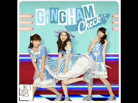 JKT48  gingham check english version