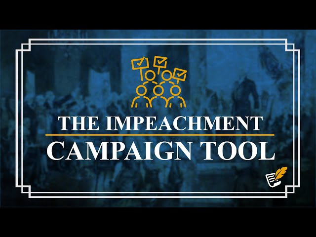 How Democrats Use Impeachment as a Campaign Tool