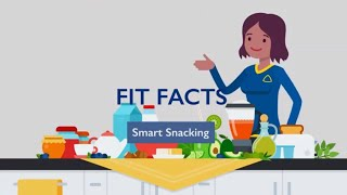 Fit facts: food and nutrition believe it or not, snacks can be part of a healthy diet. smart snacking helps you avoid over-eating later in the day. learn mor...