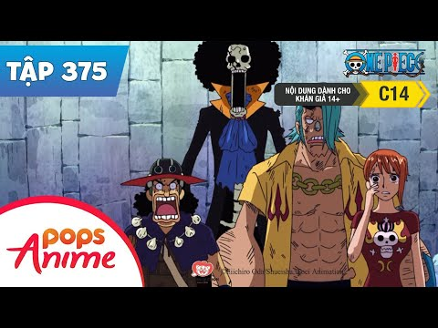 One Piece Tập 375 - Nguy Cơ Chưa Kết Thúc! Lệnh Xóa Sổ Băng Hải Tặc Mũ Rơm - Đảo Hải Tặc