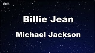 Karaoke♬ Billie Jean - Michael Jackson 【No Guide Melody】 Instrumental