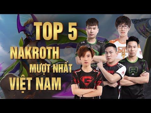 TOP 5 HIGHLIGHT NAKROTH- AI LÀ NGƯỜI CHƠI NAKROTH HAY NHẤT VN ???