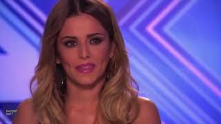 The X factor jury's reaction to Nisa Sabyan's appearance