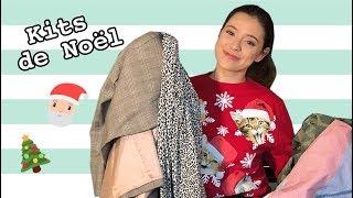 TRY-ON HAUL de FRIPERIES: NOEMIE LACERTE se crée 4 kits de Noël | billie