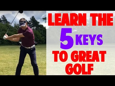 How to Have a Great Golf Swing - Real Student Swing Analysis (Top Speed Golf)