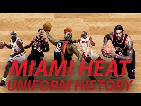 NBA Uniform History | Miami HEAT