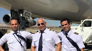 B747-200  4X-ICO  LAST LANDING AT MOJAVE AIRPORT KMHV